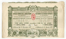 Greece Athens Chemicals And Fertilizers Products 10 Shares Bonds 1971