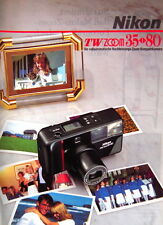 Nikon TW ZOOM 35 - 80 Prospekt brochure deutsch german - (0740)