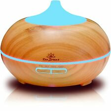 Zen Breeze, Essential Oil Diffuser, Aroma Humidifier, 14 Color Shades