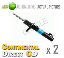 2 x CONTINENTAL DIRECT FRONT SHOCK ABSORBERS SHOCKERS STRUTS OE QUALITY GS3025F