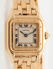 Cartier 12mm 18k Yellow Gold SMALL Panther LINK - WATCH LINK ONLY