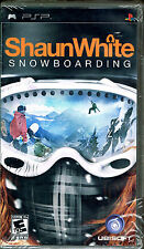 Shaun White Snowboarding (Sony PSP, 2008) BRAND NEW FACTORY SEALED