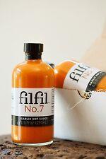 Filfil No.7: All Natural Garlic Hot Sauce, 8.0 oz