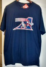 MONTREAL ALOUETTES CFL Football New Mens T-Shirt Sz L NWT Canadian Size Large