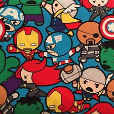 Disney Marvel Kawaii All In The Pack 100% Cotton Fabric