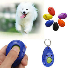 Pet Dog Puppy Cat Training Clicker Click Button Trainer Obedience Aid Wrist New