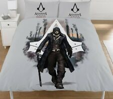 Assassins Creed 'Syndicate' Panel Double Bed Duvet Quilt Cover Set Brand New