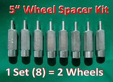 "5"" ATV WHEEL SPACERS (8 piece set) fit all KAWASAKI Brute Force 300 750 KFX 90"