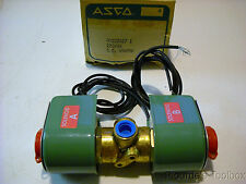 "ASCO 1/4"" Red-Hat 3-Way Dual Solenoid Valve for R22 Refrigerant, HV222617-1"
