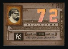 BABE RUTH 2005 DONRUSS BIOGRAPHY #72 CAREER HR *NEW YORK YANKEES*