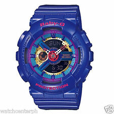 Casio Baby G BA112-2A Ana-digi Ladies Blue Watch - Watchcenterph COD PAYPAL