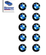 10x Remote Key Fob Emblem Logo Badge  11mm For BMW X5 X3 Series 1 3 5 7