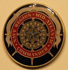 Navy Region Mid-Atlantic Commander Navy Challenge Coin