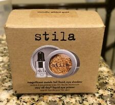 Stila Magnificent Metals Foil Finish Eyeshadow ~metallic Gilded Gold