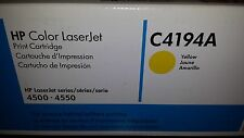HP Color Laserjet 4500 Toner Cartridge Yellow C4194A