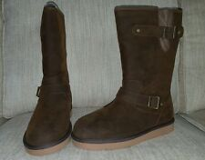 New Ugg Australia Sutter Boots size 9 NIB Toast color Retail Price $249.99