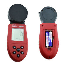 200,000 Digital Light Meter LCD Luxmeter Lux/FC Measure luminometer photometer