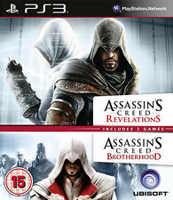 Assassins Creed Revelations + Assassins Creed Brotherhood-Double Pack ~ Ps3
