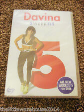 Davina 5 Week Fit Workout Fitness Exercise Training 2016 UK DVD Brand New Sealed