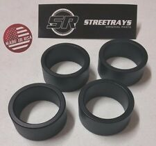 "StreetRays Yamaha Kodiak 350 400 450 700 ATV Complete 2.5"" Lift Spacer Kit BLACK"