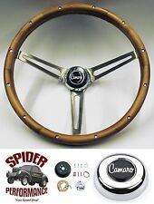 "1967 Camaro steering wheel WALNUT 15"" Grant steering wheel"