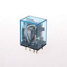 220V AC Coil Power Relay MY2NJ HH52P-L 8PIN 5A With PYF08A Socket Base