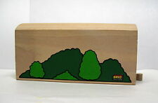 "Brio, Wooden Railway, Painted Single Track Tunnel, 8"" L x 4"" H, EUC"