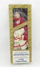 Int. Coll. Society, Land of Enchantment, Porcelain Doll, Little Red Riding Hood