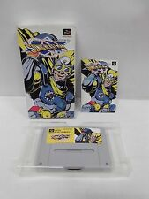 SNES -- SONIC BLAST MAN -- Boxed. Super famicom. Japan game. Work fully. 12923