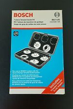 Bosch 7 piece Templet Guide Kit/ Router Template Guide Kit