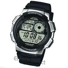 Casio AE-1000W-1A2VEF World Time 5-Daily Alarms Stopwatch 100M Sport Watch