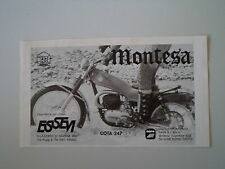 advertising Pubblicità 1975 MOTO MONTESA COTA 247 T TRIAL