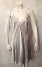 Vintage Gold Label 100% SILK Victoria's Secret Chemise BabyDoll Nightgown Large