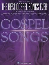 Best Gospel Songs Ever - Piano - Vocal - Guitar sheet music songbook