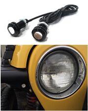 AMBER LED Turn Signal Lights for Jeep Wrangler Flat Fenders  YJ CJ JK TJ Rubicon