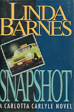 Snapshot  by Linda Barnes-1st Ed/DJ-1993-Review Copy-Carlotta Carlyle Novel