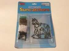Makit & Bakit Suncatcher Kit-Horse stained glass pony 51191