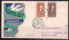 España. Sobres con sellos 1079-1080 del Centenario