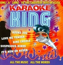 Karaoke King: Sing-A-Long To The Greatest Hits Of Elvis New CD