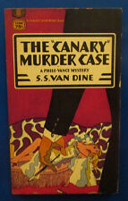 "1955 THE ""CANARY"" MURDER CASE by S.S. Van Dine Paperback Fawcett T2004 VG"