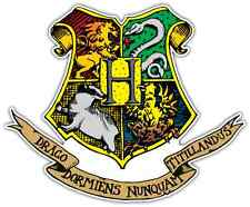 "Hogwarts Harry Potter Coat of Arms Car Bumper Window Sticker Decal 4.5""X4.5"""