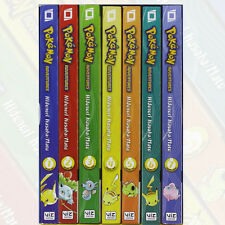 Pokemon Adventures GN Collection Volume 1-7 Books Box Set By Hidenori Kusaka NEW