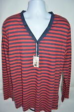 DIESEL Man's T-COSTA Button Up Long Sleeve T-Shirt  NEW Size X-Large Retail $78