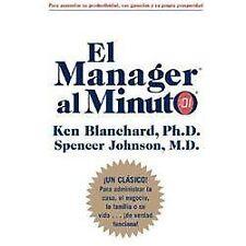 El Manager al Minuto by  Ken Blanchard  Management Spanish language
