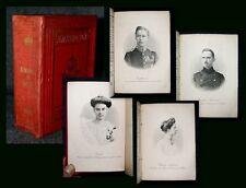 1906 Genealogie Almanach de Gotha Cecilie zu Mecklenburg Wilhelm von Preußen