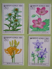 South Korea 1994 Wild Flowers set of 4 MNH
