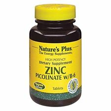 Zinc Picolinate w/B-6 Nature´s Plus 120 Tablets EUR 0.31/pro Tablette