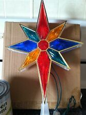 New Christmas Tree Decorations Multi Colored Star Holiday Tree Topper Xmas Tree