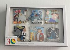 VILLANS BOX SET of 6 LE 300 Brave, Up, Toy Story Disney Pixar Pin Party 2016