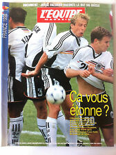 L'Equipe Magazine du 04/07/1998; Spécial France 98, coupe du monde de football